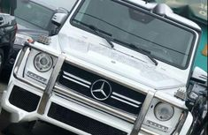 Mercedes-Benz G500 2008 White for sale