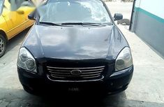 Neat Kia Optima 2006 Black color for sale
