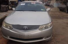 Toyota Solara 2002 Silver color for sale