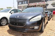 Peugeot 508 2015 Black for sale