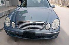 Mercedes-Benz E320 2005 Blue for sale