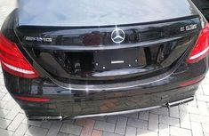 Mercedes-Benz E63 2018 Black for sale
