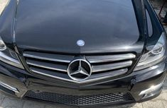 Mercedes-Benz C250 2014 Black for sale