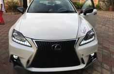 Lexus IS 2016 White for sale