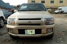 Infiniti QX4 2002 Gold for sale