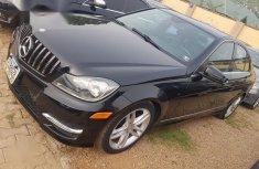 Toks Mercedes-Benz C300 2012 Black for sale