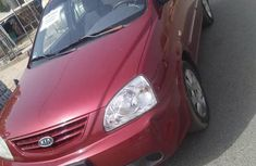 Kia Carens 2004 Red for sale