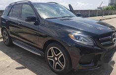 Toks Mercedes-Benz GLE350 2016 Black for sale