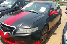 Acura TSX 2004 Black for sale