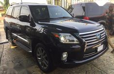 Toks Lexus LX 2014 Black for sale