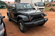 Jeep Wrangler 3.8 Unlimited X 4x4 2007 Black for sale