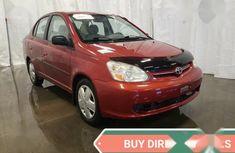 Toyota Echo Sedan 2005 Red for sale