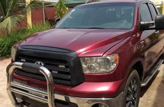 Toyota Tundra 2007 SR5 Double Cab Red for sale