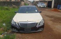 Toks Mercedes-Benz E550 2010 Black for sale