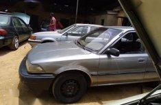 Toyota Corolla 1990 Sedan Gray for sale
