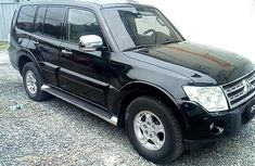 2008 Mitsubishi Pajero Black for sale in Lagos
