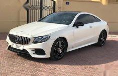 Mercedes-Benz E420 2018 White for sale