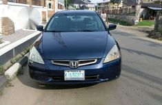 Honda Accord Sedan EX 2004 Blue for sale