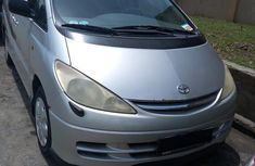 Toyota Previa Automatic 2004 Silver  for sale