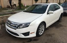Ford Fusion 2010 Petrol Automatic White for sale