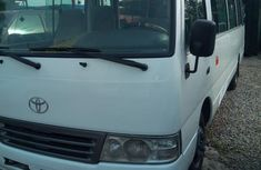 Toyota Coaster 2012 White for sale