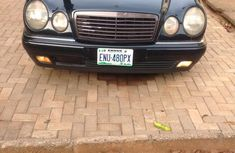 Mercedes-Benz E420 2001 Blue for sale