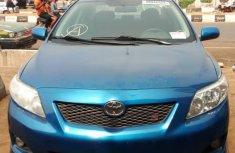 Clean Toyota Corolla 2010 Bluefor sale