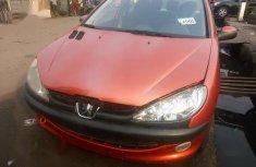 Peugeot 206 2002 Orange for sale