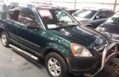 Honda CR-V 2002 Green for sale