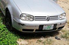 Volkswagen Golf 2001 2.0 GLS 3-Door Automatic Silver for sale