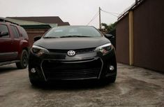 Toyota Corolla 2016 Black for sale