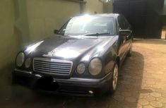 Mercedes-Benz E430 2001 Black for sale