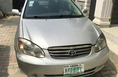 Toyota Corolla 2002 1.5 Break Automatic Silver for sale