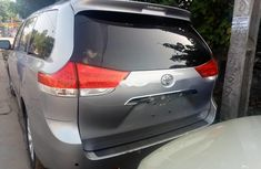 Toyota Sienna 2010 Petrol Automatic Grey/Silver for sale