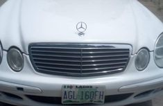 Mercedes-Benz E500 2005 White for sale