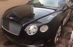 Bentley Continental 2012 Black for sale