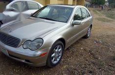 Mercedes-Benz C240 2002 Gold for sale