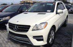 Mercedes-Benz ML350 2013 White for sale
