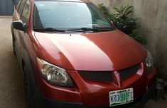Pontiac Vibe 2004 Automatic Red for sale