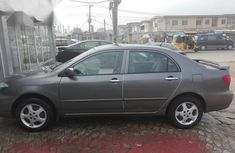 Toyota Corolla 2006 Gray for sale