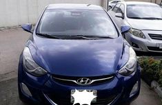 Hyundai Elantra GLS Automatic 2012 Blue for sale