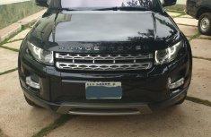 Land Rover Range Rover Evoque 2012 Black for sale