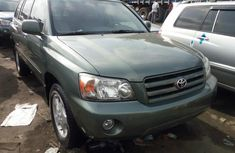 foreign used 2006 toyota highlander