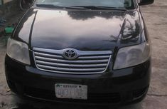 Toyota Corolla 2007 160i GLE Black For Sale