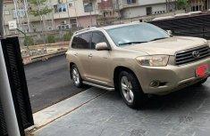 Toyota Highlander 2010 Limited Goldfor sale