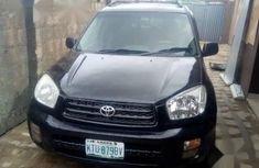 Toyota RAV4 2002 Automatic Black for sale