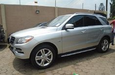 Mercedes-Benz ML350 2013 Silver for sale
