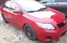 Toyota Corolla 2008 Red