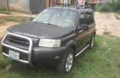 Land Rover Freelander 2002 Black for sale