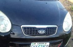 Kia Picanto 2008 1.1 Automatic Black for sale